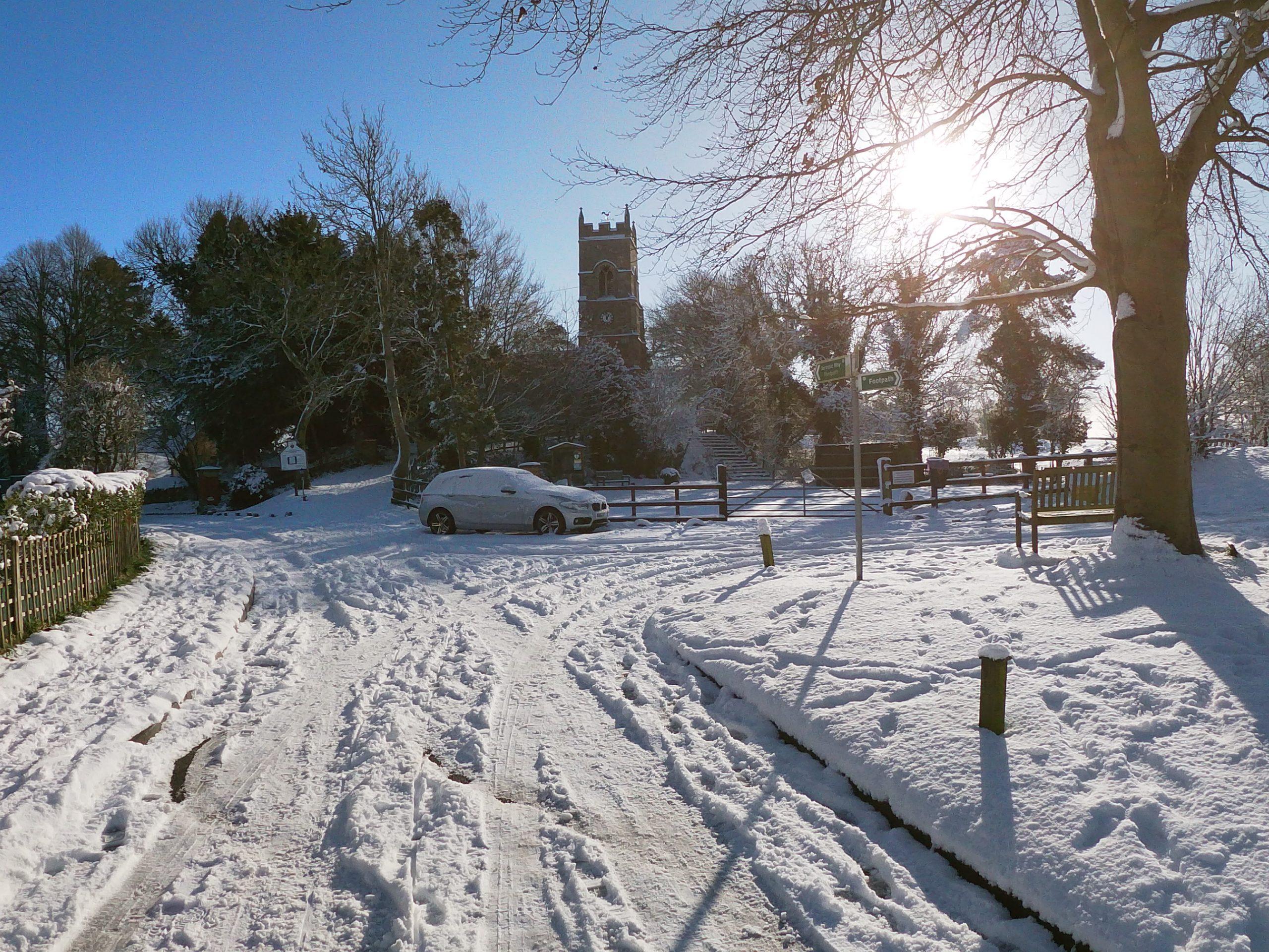 Church in the Snow - Jan 2021