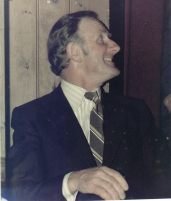 1977 - Joe West - First Chair of the Parish Council
