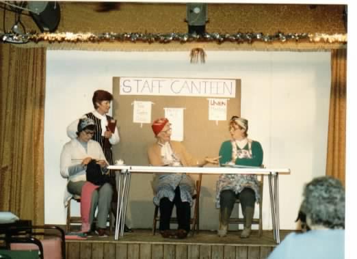 1980 - East Farndon Revue Sketch