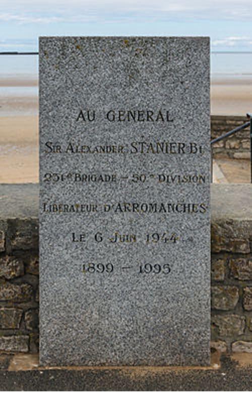 1995 - Sir Alexander Stanier Memorial