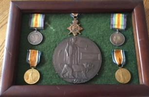 Alfred Owen Allen - WW1 Medals