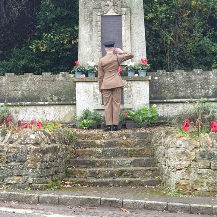 East Farndon Remembrance Day 2020