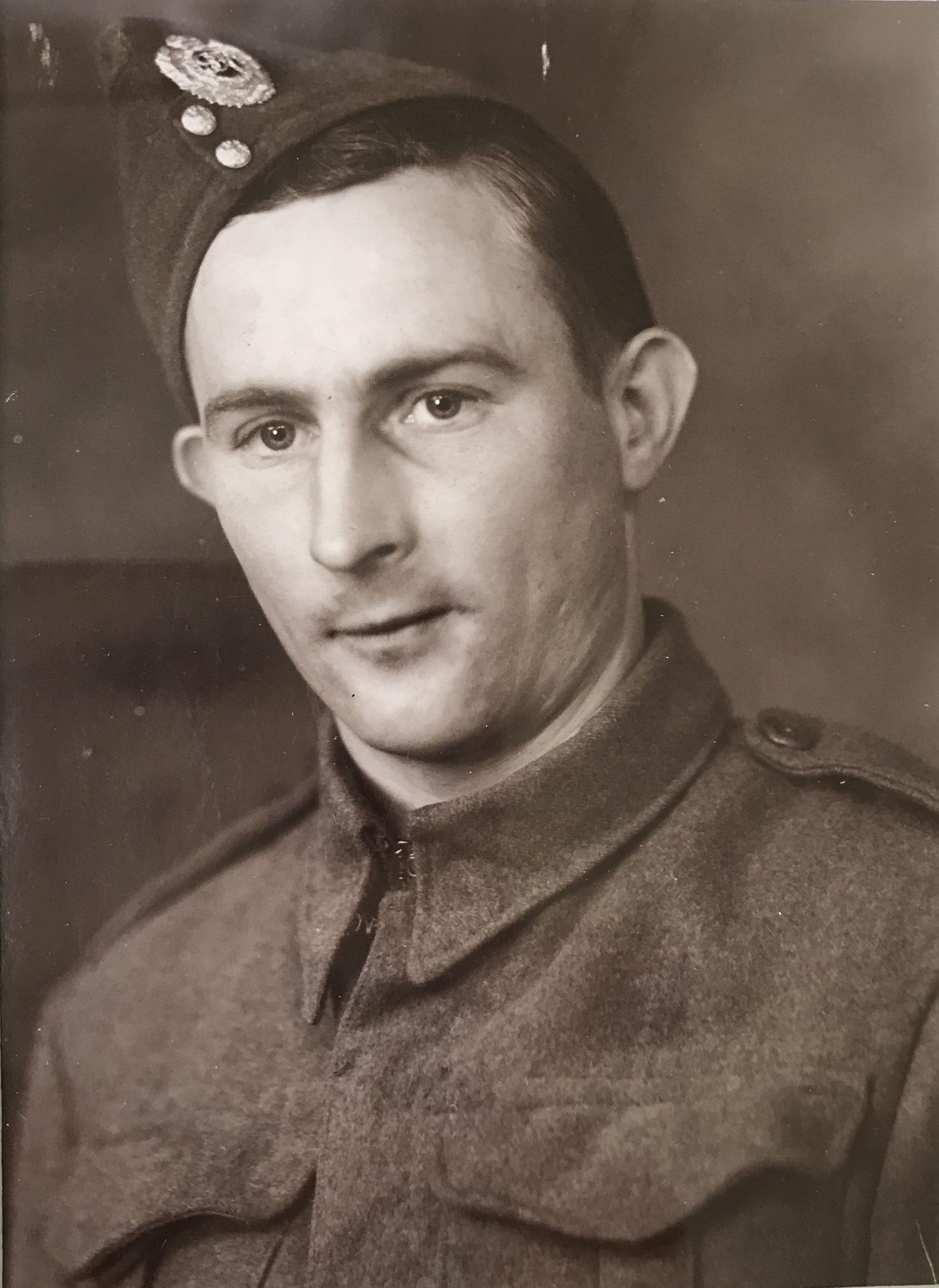 Ernest (Ernie) Hill in WW2
