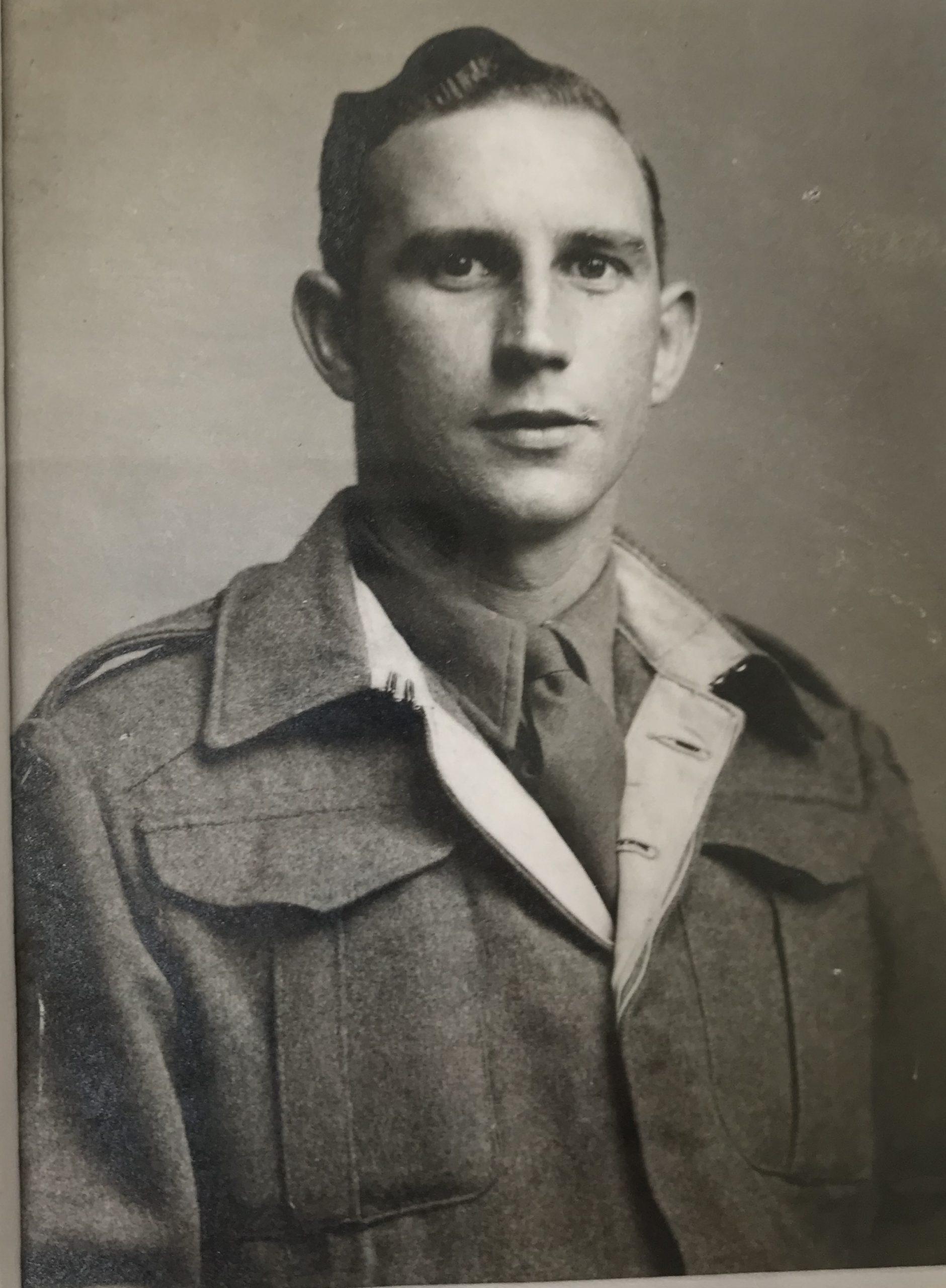Len Hill in WW2