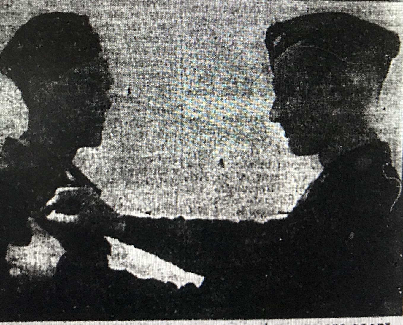 Leonard Dunkley in WW2