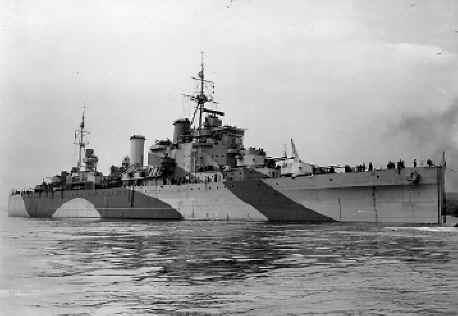 Mick Belton - HMS London On Tyne in 1943 - WW2