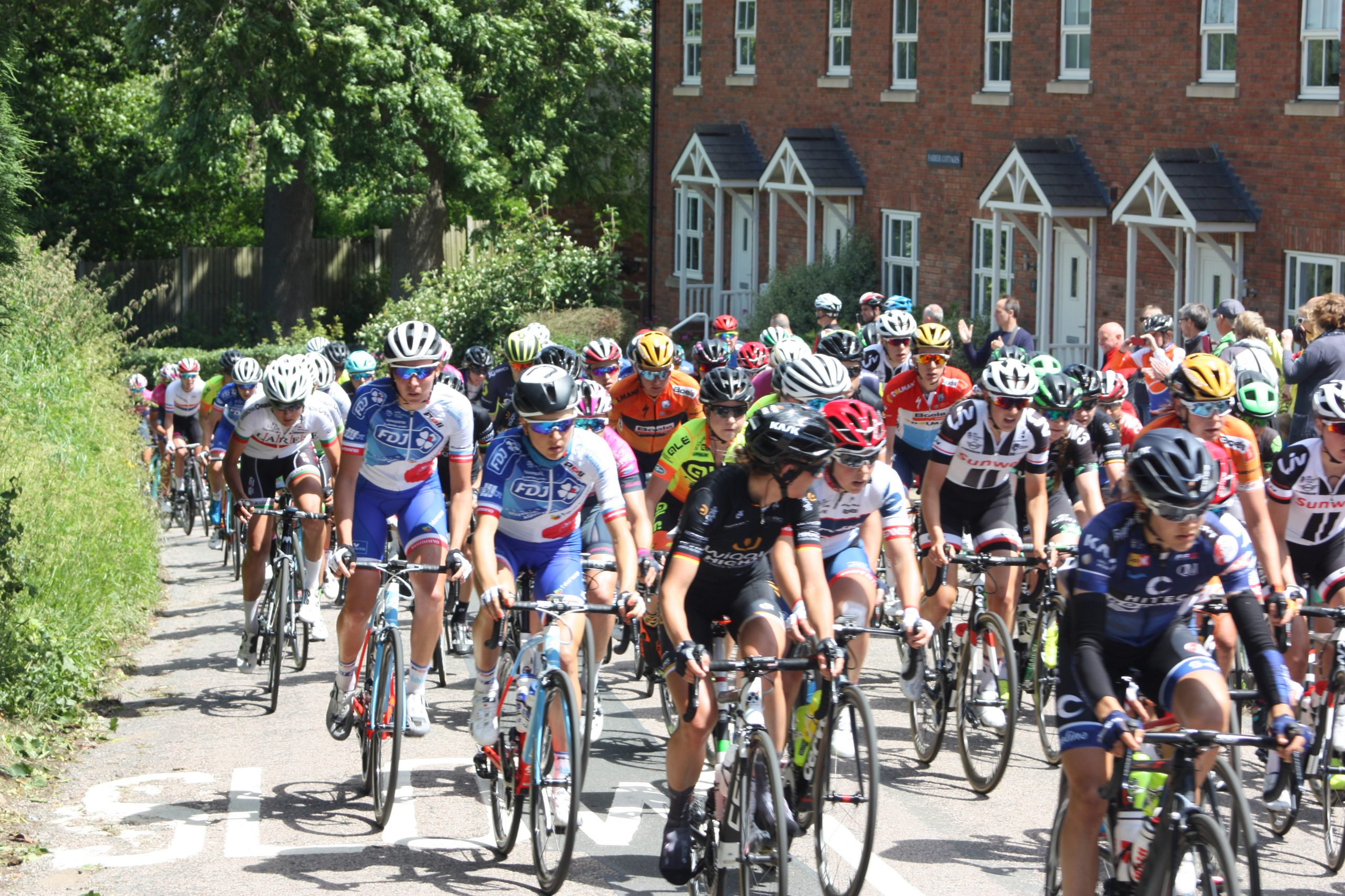 Womens Cycle Tour in East Farndon - June 2017